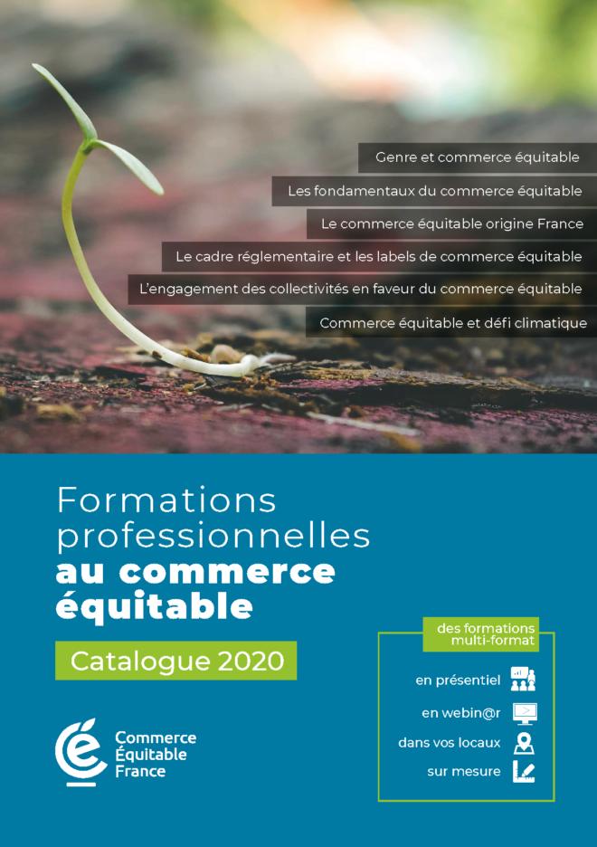 Catalogue 2020 des formations professionnelles de commerce équitable par Commerce Équitable France