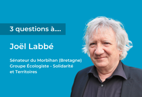 3 questions à Joël Labbé, Sénateur du Morbihan