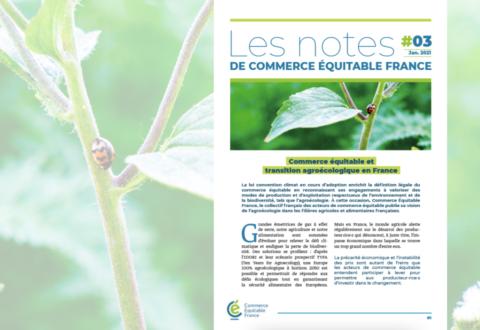 Commerce équitable et transition agroécologique en France
