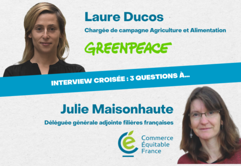 Interview croisée : 3 questions sur l'alimentation durable à Laure Ducos et Julie Maisonhaute
