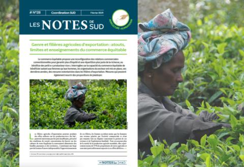 Genre et filières agricoles d'exportation : atouts, limites et enseignements du commerce équitable