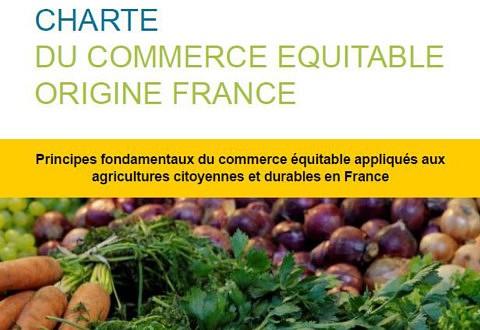 Charte du Commerce Équitable Origine France