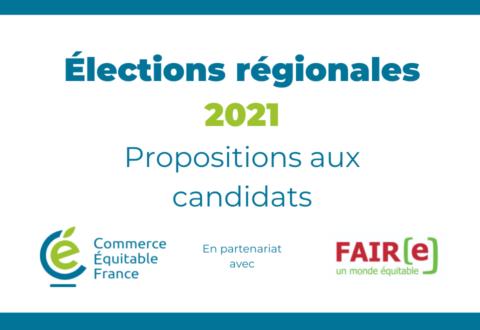 Élections régionales 2021 :  5 leviers et 15 engagements