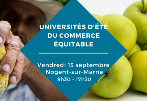 [#UECE19] Les Universités d'été du commerce équitable