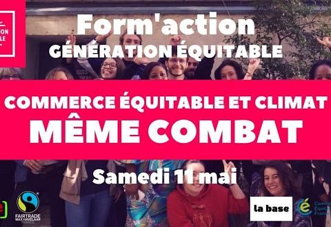 Form'action «Commerce équitable et climat : même combat»