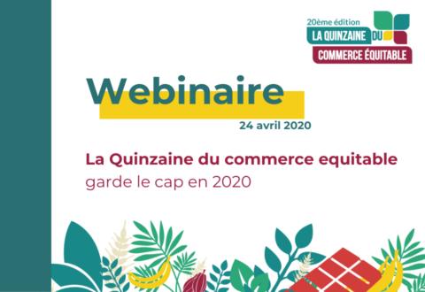 Formation : La Quinzaine du commerce équitable garde le cap en 2020