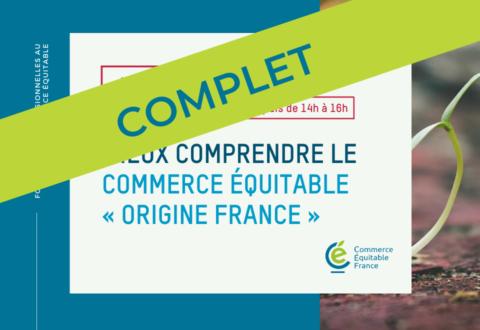 Formation : Mieux comprendre le commerce équitable «origine France»