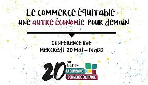 Mercredi 20 mai à 18h : Conférence live