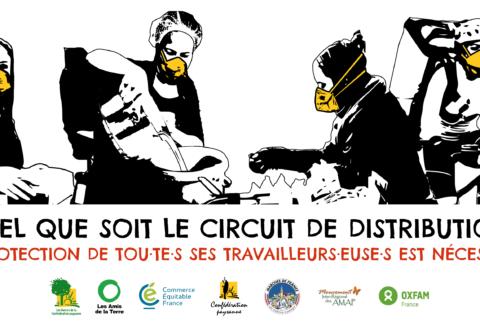 Commerce Équitable France participe à l'appel pour des filières alimentaires responsables et équitables