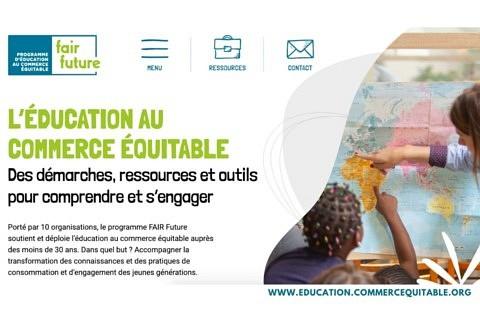 Lancement d'un espace web de ressources d'éducation au commerce équitable