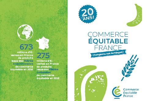 Plaquette de présentation de Commerce Équitable France