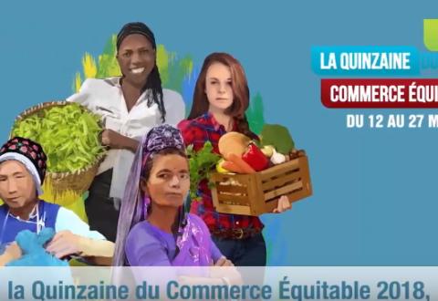 Quinzaine du Commerce Équitable 2018 : Égalité femmes-hommes