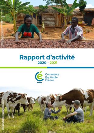 Rapport d'activité 2020-2021 de Commerce Équitable France