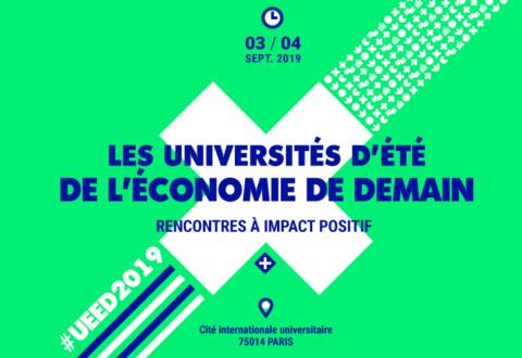 Commerce Équitable France participe aux Universités d'été de l'économie de demain