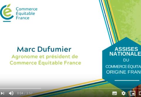 Contribution du commerce équitable pour la transition agroécologique de l'agriculture française : la vision de Marc Dufumier